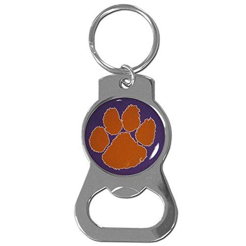 NCAA Siskiyou Sports Fan Shop Clemson Tigers Bottle Opener Key Chain One Size Team Color