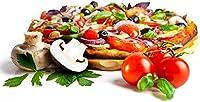 フルーツピザ 500ピースジグソーパズル木製ジグソー脳チャレンジ