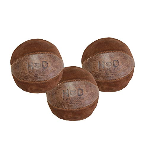 Hide & Drink, Leather Juggling Balls (3 Pack) / Equipment / Professional Style / Great Feel,...