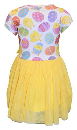 Unique Baby Girls Easter Chick Egg Hunt Tutu Skirt Dress (6, Egg Chick)