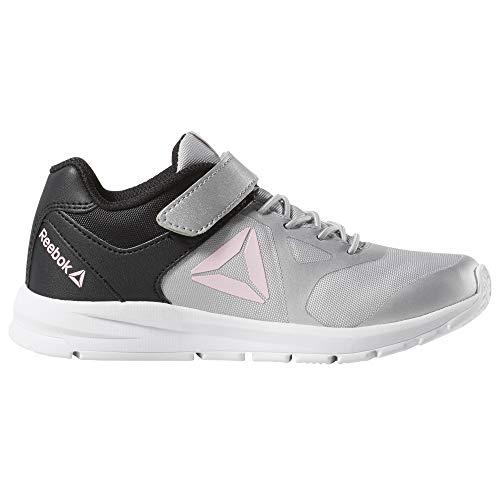 Reebok Mädchen Rush Runner Alt Traillaufschuhe, Mehrfarbig (True Grey/Black/Light Pink 000), 30 EU