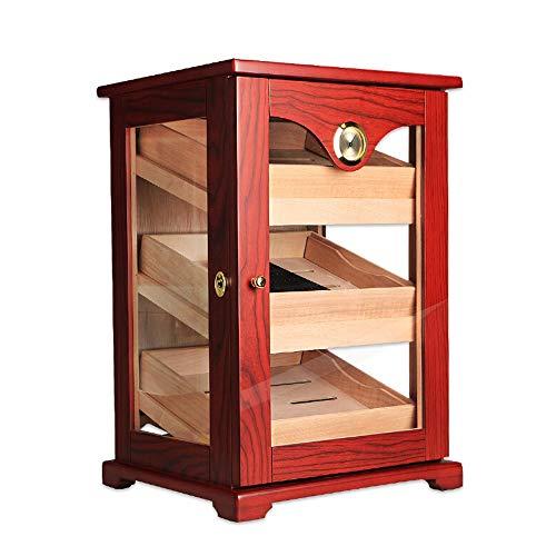 XZ Zigarren-Humidor Mellow Cedar Luftbefeuchtung Box senden Geschäftskunden Freund Ehemann Geschenk, 490x290x334mm Rauchzubehoer (Color : 490x290x334mm)