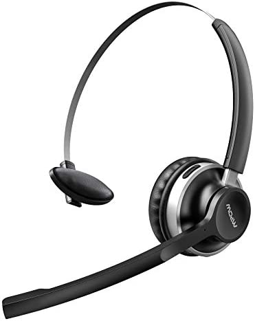 Mpow HC3 Bluetooth Headset V5 0 Dual Microphone Wireless Headphones for Truck Driver Office product image