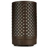 tellaLuna Difusor de Aceite Esencial Difusor de Aroma de Metal Humidificador de Niebla Vintage Silencioso para Oficina Casa Dormitorio 100Ml Enchufe de la UE