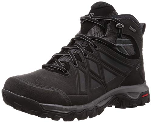 Salomon EVASION 2 MID LTR GTX, Herren Traillaufschuhe, Grau (Magnet/Phantom/Quiet Shade), 44 EU (9.5 UK)