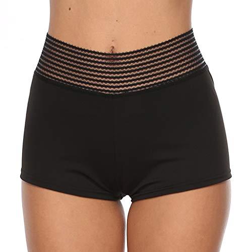 niumanery Women Seamless Yoga Shorts High Waist Ruched Scrunch Butt Lifting Booty Hot Pant Black XL