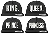 Youth Designz Gorra de béisbol King Queen Prince Princess Set Prince Talla única