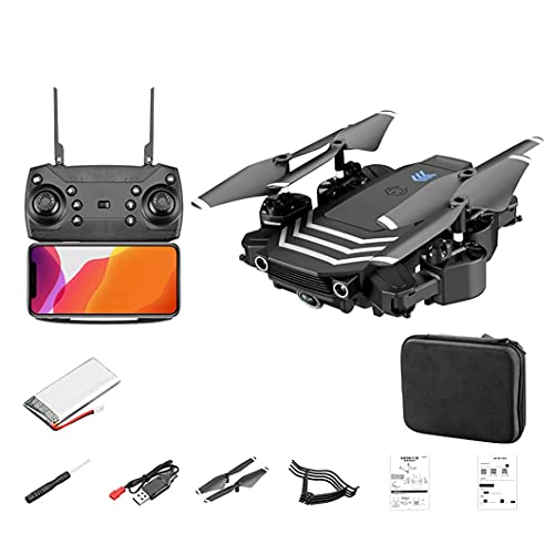 WYZXR Drone con cámara Doble 1080P, cardán de 4 Ejes, Motor sin escobillas de Video en Vivo 5G FPV, Retorno automático a casa, Plegable para niños, Drone, Regalos para niños, Juguetes para niñas