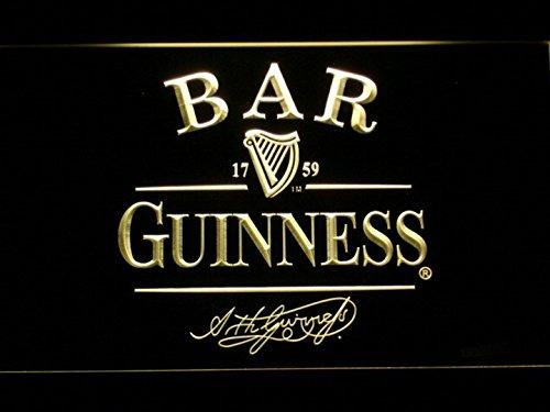 Guinness Cerveza Bar LED luz de neón Sign Man Cave 427-y