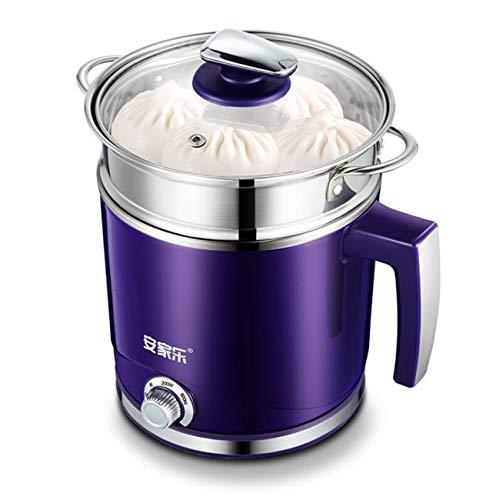 WJJJ Dortoir électrique 2L avec cuiseur électrique Multifonction pour cuisinière électrique avec marmite en Acier Inoxydable (capacité: sans cuiseur Vapeur)