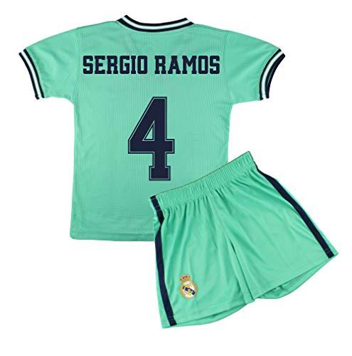 Champion's City Kit Trikot und Hose für Kinder, 3er-Set, Real Madrid, offizielles Replikat, Spieler 10 Jahre 4 - Sergio Ramos