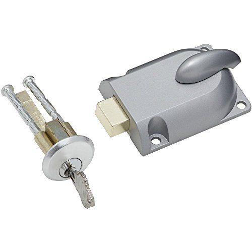 National Hardware N280-784 V7651 Dead Bolt Lock in Aluminum