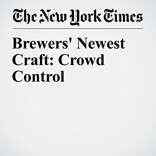 Brewers' Newest Craft: Crowd Control copertina