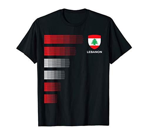Libanon Fußball Trikot - Libanesischer Fußball T-Shirt