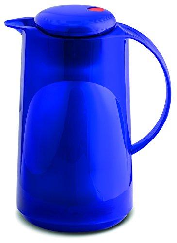 ROTPUNKT Isolierkanne 1 Liter, hyperblue, Kunststoff, 29 x 18 x 13.8 cm