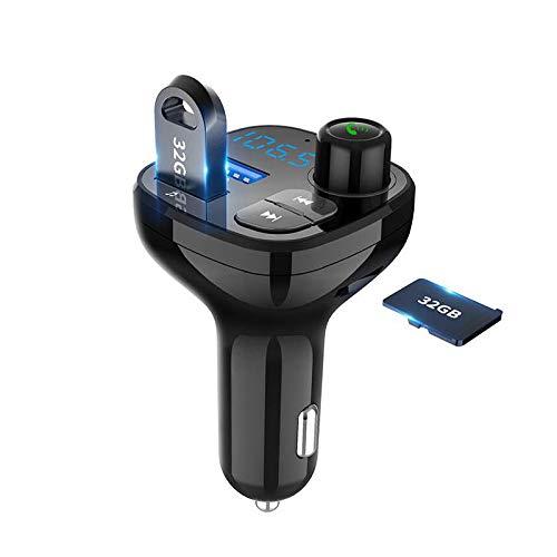 SZDZ BT12Q QC3.0 Música Bluetooth Manos Libres Llamada Cargador de Coche 11