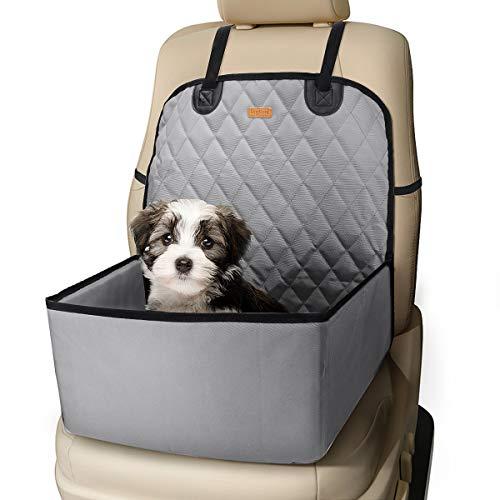 Laelr 2-in-1-Autositzbezüge für Hunde, wasserdichter Kindersitz für die vollständige Abdeckung der Autositze vorne, Rutschfester Autositzbezug für Reisefahrzeuge