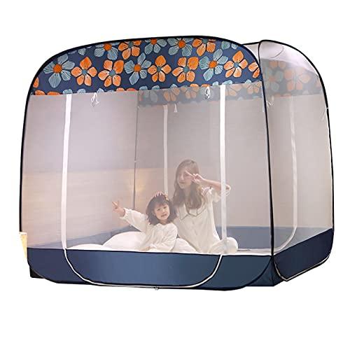 Mosquitera Mosquitera Portátil para Acampar, Mosquitera De Protección contra Caídas para Adultos/Niños para Cama Individual/Doble, Tienda De Mosquitera De Viaje Plegable (Size : 1.8x1.95x1.7m)