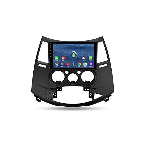 Autoradio Bluetooth, 2 Din Android Radio De Coche 9'' Pantalla Táctil Wifi Plug And Play Completo RCA SWC Soporte Carautoplay/GPS/DAB+/OBDII Para Mitsubishi Grandis 2003-2011,Quad core,4G Wifi 2G+32G