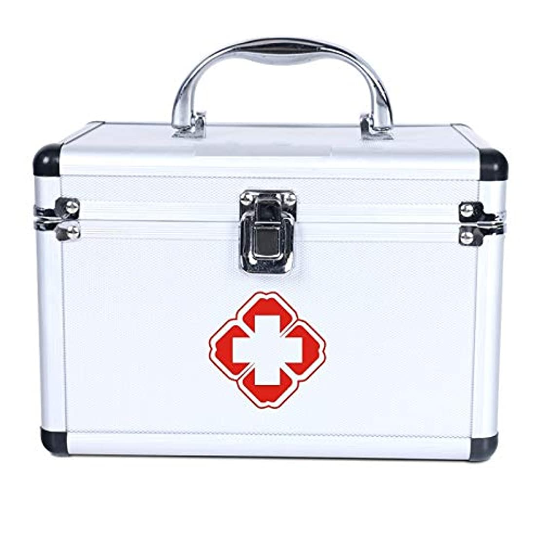 炭水化物勧める消毒するNYDZDM 医療収納ボックスの応急処置ボックス - 薬と処方箋の緊急キット収納ボックスをロックする