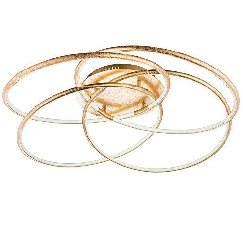 Globo Barna Deckenleuchte, Metall, 60 W, goldfarben