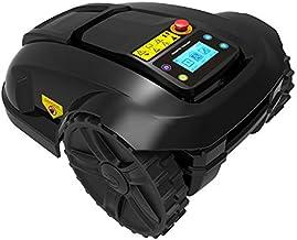 SHPEHP Robot de Corte, cortacésped para Jardines/cortacésped inalámbrico de hasta 1000 m2, contraseña antirrobo incorporada, Control Remoto WiFi, Sensor anticolisión.-Black