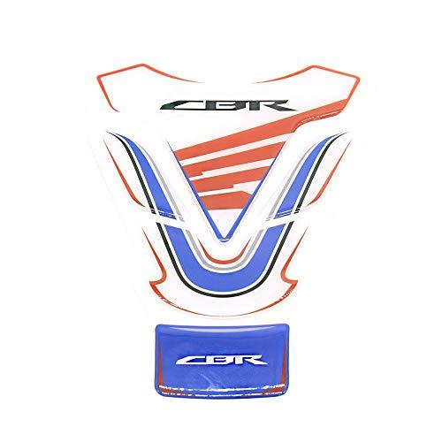 SUSHANCANGLONG Motorrad Kraftstofftank Pad Protector Decal CBR-Aufkleber Hülle für Honda CBR 600 900 1000 RR xx (Color : White)