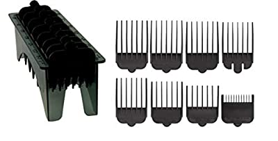 Wahl Plastic Comb Attachments for Standard Multi Cut Clippers, Black by Wahl