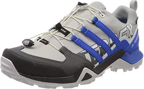 Adidas Terrex Swift R2 GTX, Zapatilla de Senderismo Versátil e Impermeable Hombre, Gris (Grey Two F17/Glory Blue/Core Black), 48 EU