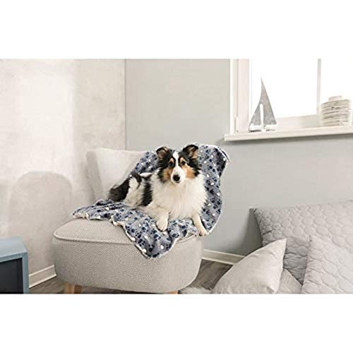 Trixie 37151 Decke Tammy, 150 × 100 cm, blau/beige