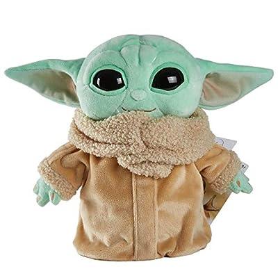 Star Wars The Mandalorian The Child 8 Inch (20.32cm) Plush Baby Yoda Doll by Mattel