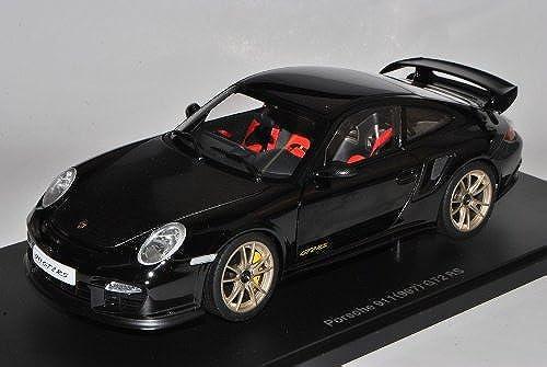 AUTOart Porsche 911 997 GT2 RS Schwarzmit Carbon Coupe 2004-2012 77962 1 18 Modell Auto