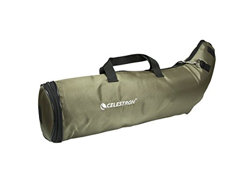 Celestron 82102 80mm Angled Deluxe Spotting Scope Case (Olive Green)