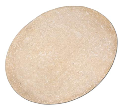 Flammkuchenteig – Flammkuchenböden – OVAL 37 x 30 cm (5 Stück), gelingen in jedem Ofen (2091VE5)