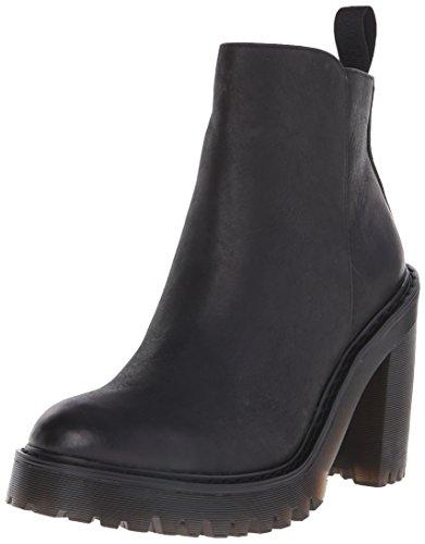 Dr. Martens MAGDALENA Pol. Wyoming BLACK, Damen Combat Boots, Schwarz (Black), 39 EU (6 Damen UK)