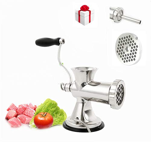 Tuntrol Commercial manual meat grinder sausage filling...