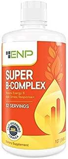 Super B Complex Liquid Vitamin Supplement   500mg B12 and 50mg B6   32oz.   Liquid B-Complex Vitamins Boost Energy, Aid Stress Response   Effective Natural Products