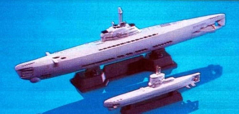 1 700 German Sumarine U-Boat type21 23 (included each 2 vessels) B000E1EW2C Das hochwertigste Material    Authentische Garantie