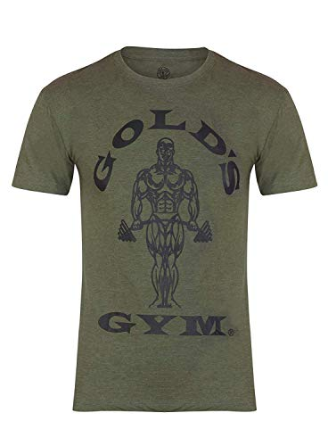 Golds Gym Herren T-Shirt Trainingsshirt Muscle Army Gr. L