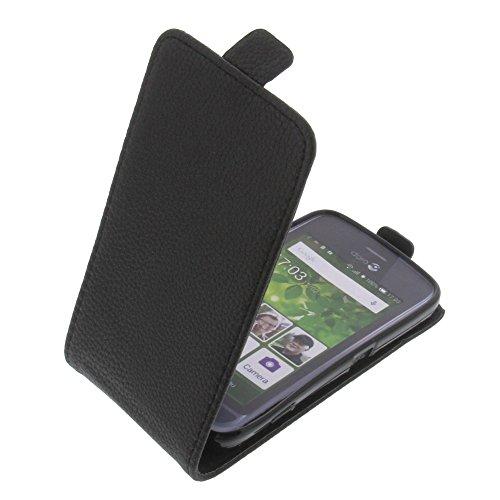 foto-kontor Tasche für Doro Liberto 820 Mini Smartphone Flipstyle Schutz Hülle schwarz