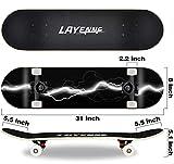 Zoom IMG-1 completo skateboard professionale tavola in
