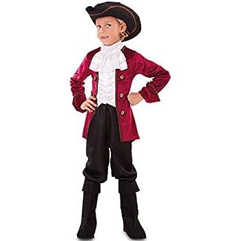 Disfraz de Pirata Deluxe para niño: Amazon.es: Juguetes y juegos