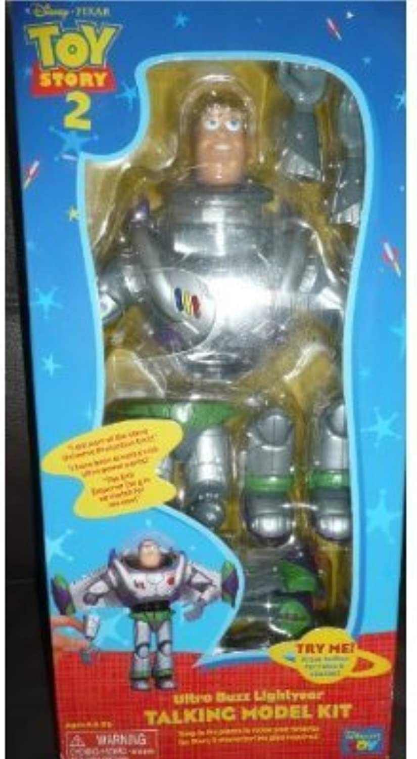tienda de ventas outlet Ultra Ultra Ultra Buzz Lightyear Talking Model Kit, Juguete Story 2 by Thinkway  el mas de moda
