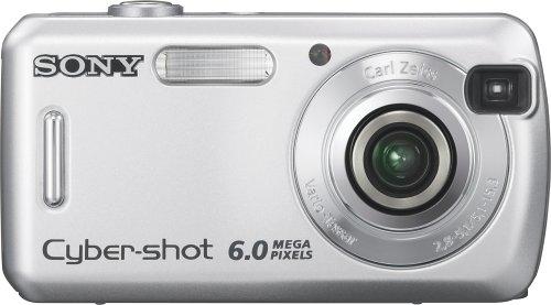 Sony Cybershot DSC-S600 6MP Digital Camera with 3x Optical Zoom