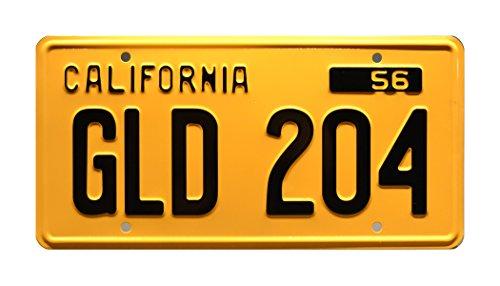 American Graffiti | GLD 204 | Metal Stamped License Plate
