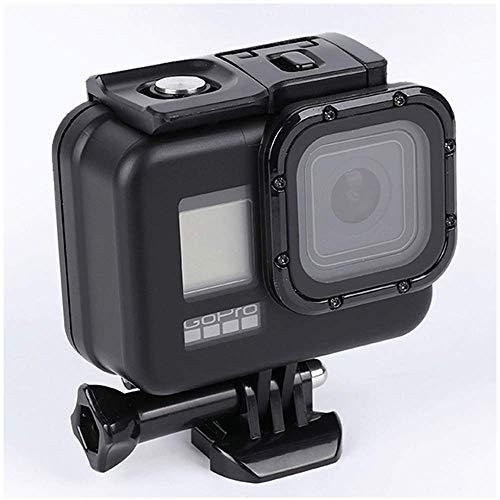 Eyeon Blackout Carcasa Impermeable 6M Buceo Estuche Protectora Carcasa Agua para la Cámara de Acción GoPro Hero 8 Fotografía y Vídeo Subacuático
