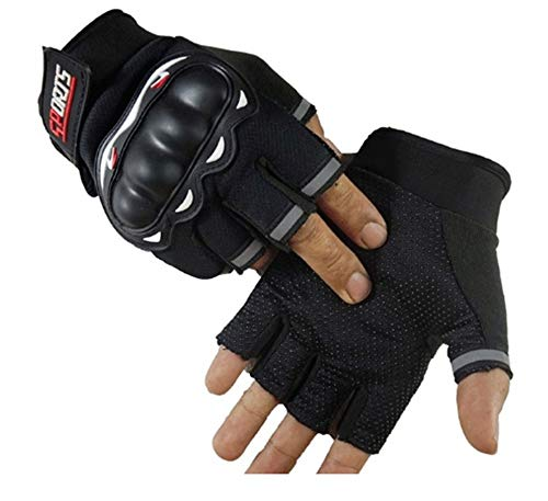 Halbfinger Hantel Langhantel Boxhandschuhe BO Sanshou Handschuhe Boxhandschuhe Fingerlose Handschuhe (Color : Black)