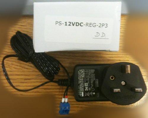 Fuente de alimentación DC para TS-TPC-8900 ARM Touch Panel Tablet / Computer Condor P/N SA121A0W, modelo HK-C112-A12 conector azul de 2 pines, tipo 3
