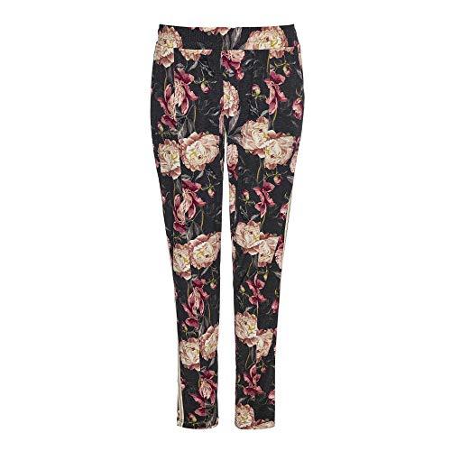 Jockey 8517202H Damen Hose Nachtwäsche Pyjama mit Gummizug Mehrfarbig Wäsche, Groesse 36, schwarz/Gemustert