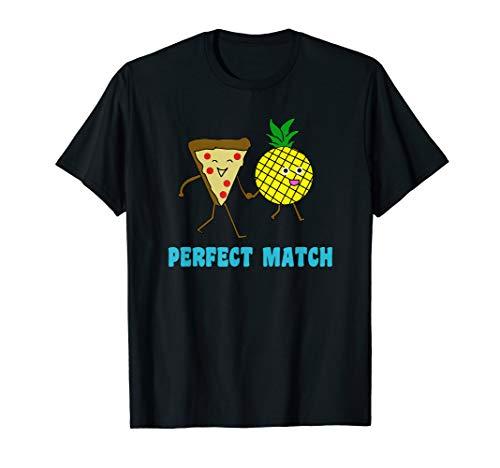 Pizza Ananas T-Shirt | Pizza Hawaii | Valentinstag